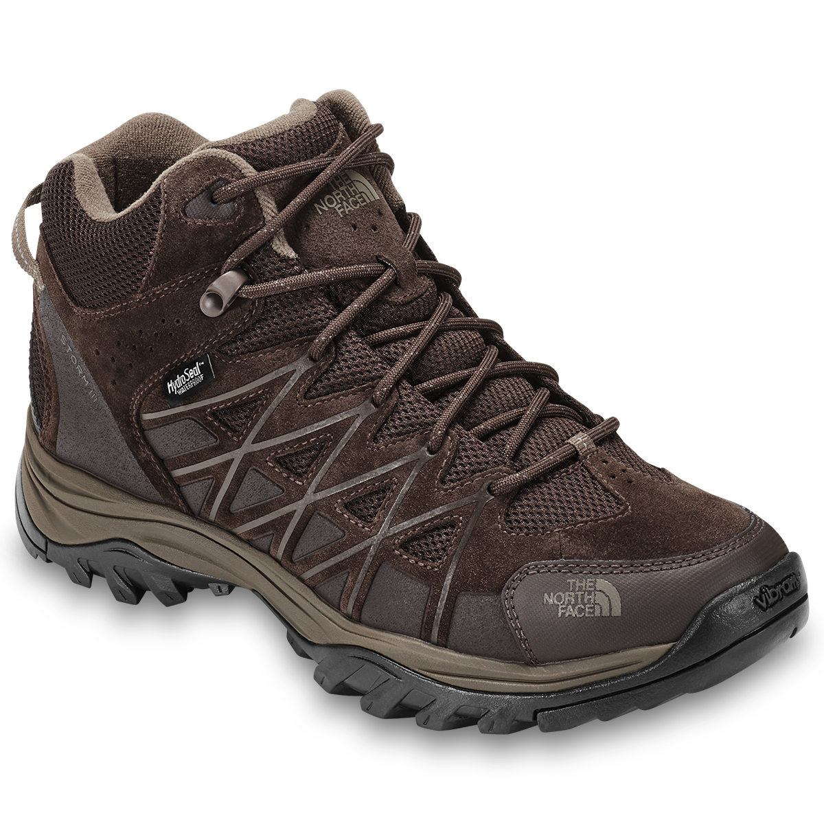 The North Face Men's Storm 3 Waterproof Hiking Boots - Brown, 12