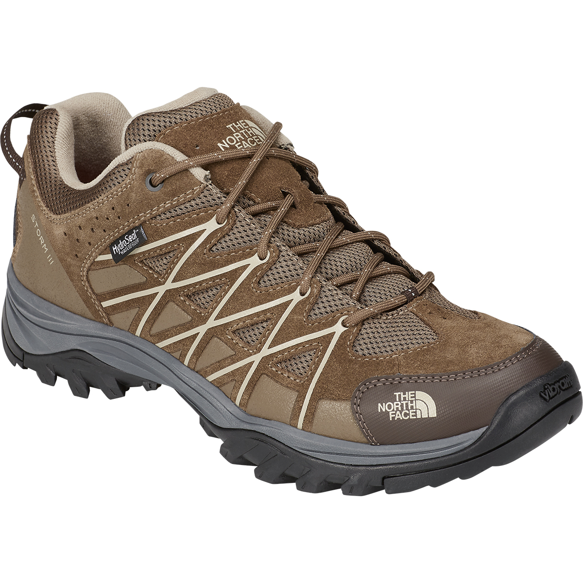 The North Face Men's Storm 3 Low Waterproof Hiking Boots - Brown, 12