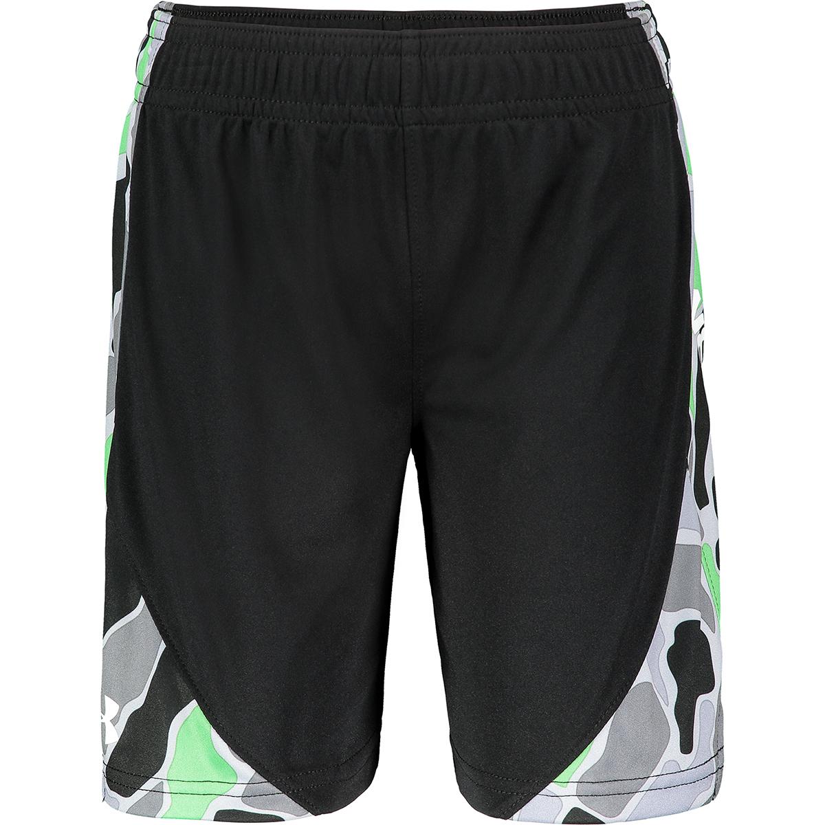 Under Armour Boys' Diverge Multi Stunt Shorts - Black, 7