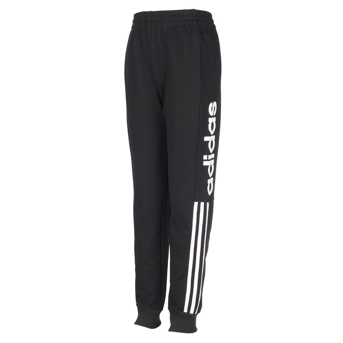 Adidas Boys' Core Linear Jogger Pants - Black, XL