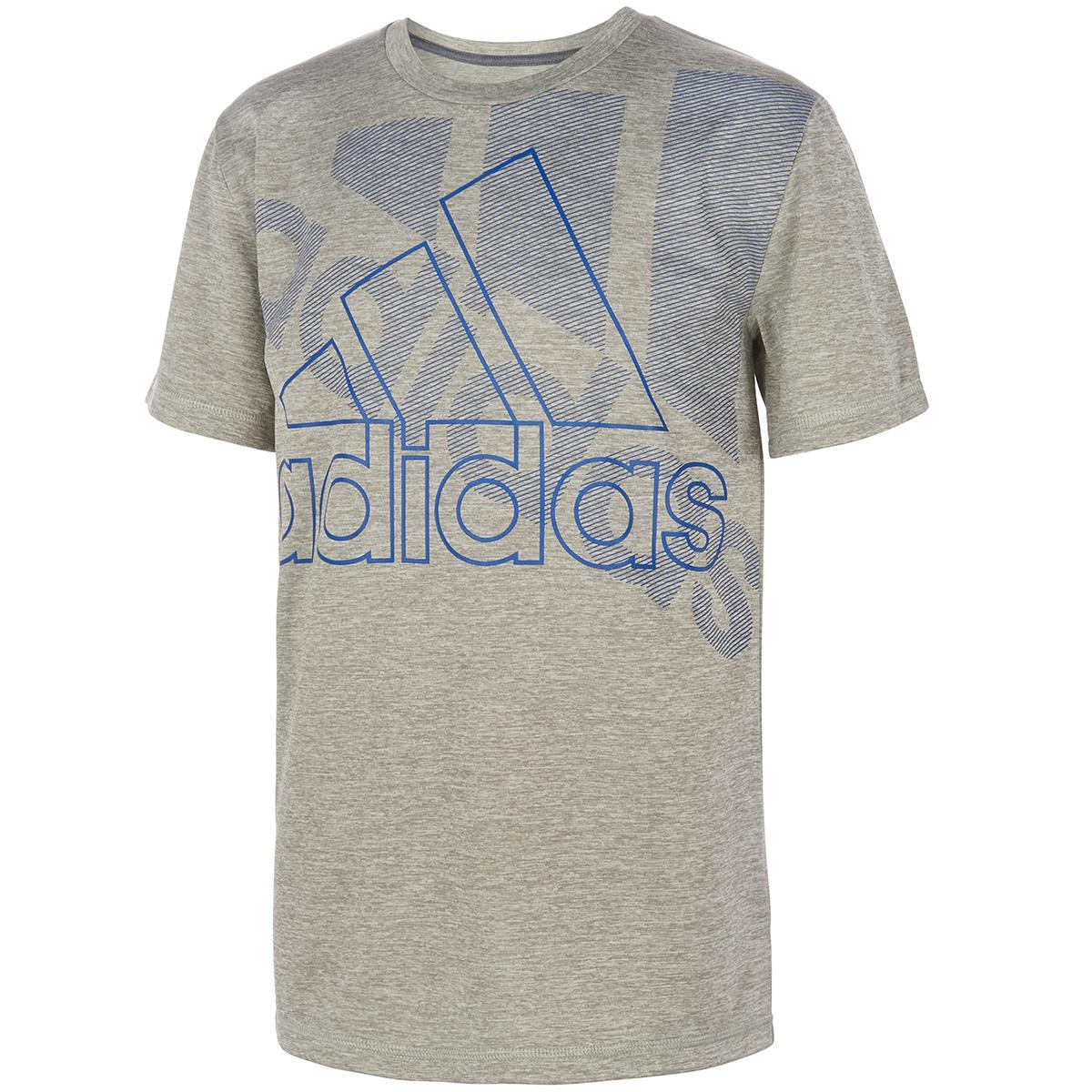 Adidas Little Boys' Short-Sleeve Badge Of Sport Tee - Black, 7
