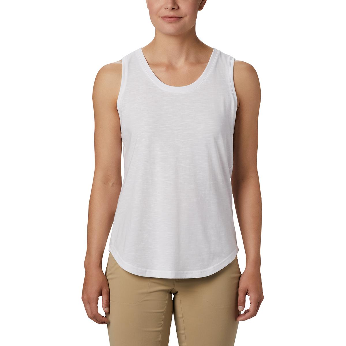 Columbia Women's Cades Cap Tank Top - White, S