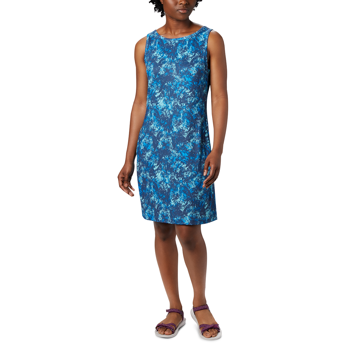 Columbia Women's Chill River Printed Dress - Blue, S