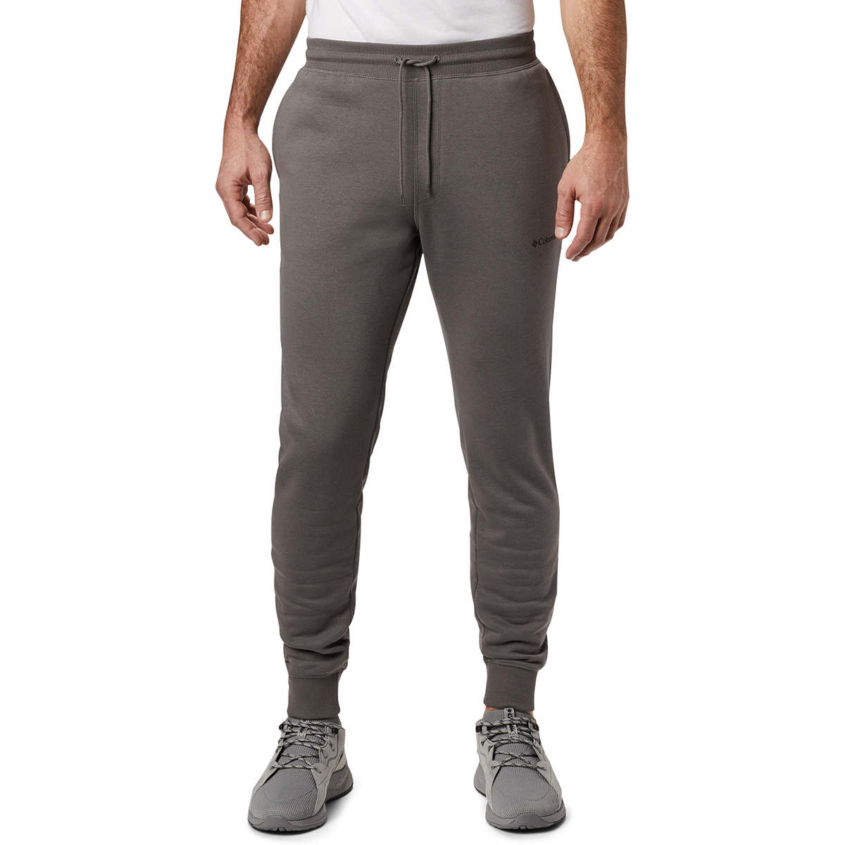 Columbia Men's Logo Fleece Jogger Pants - Black, M