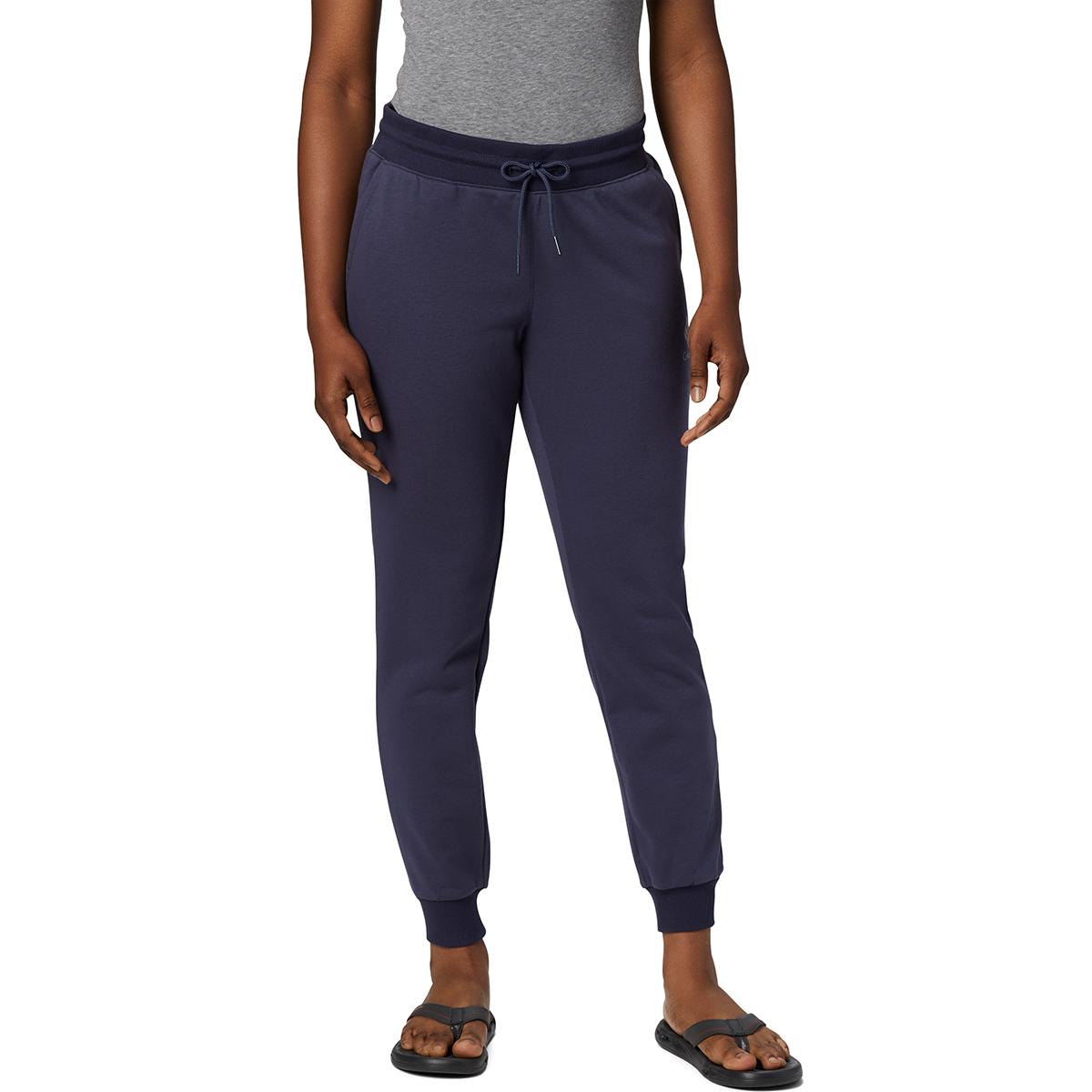 Columbia Women's Logo Jogger Pants - Blue, S