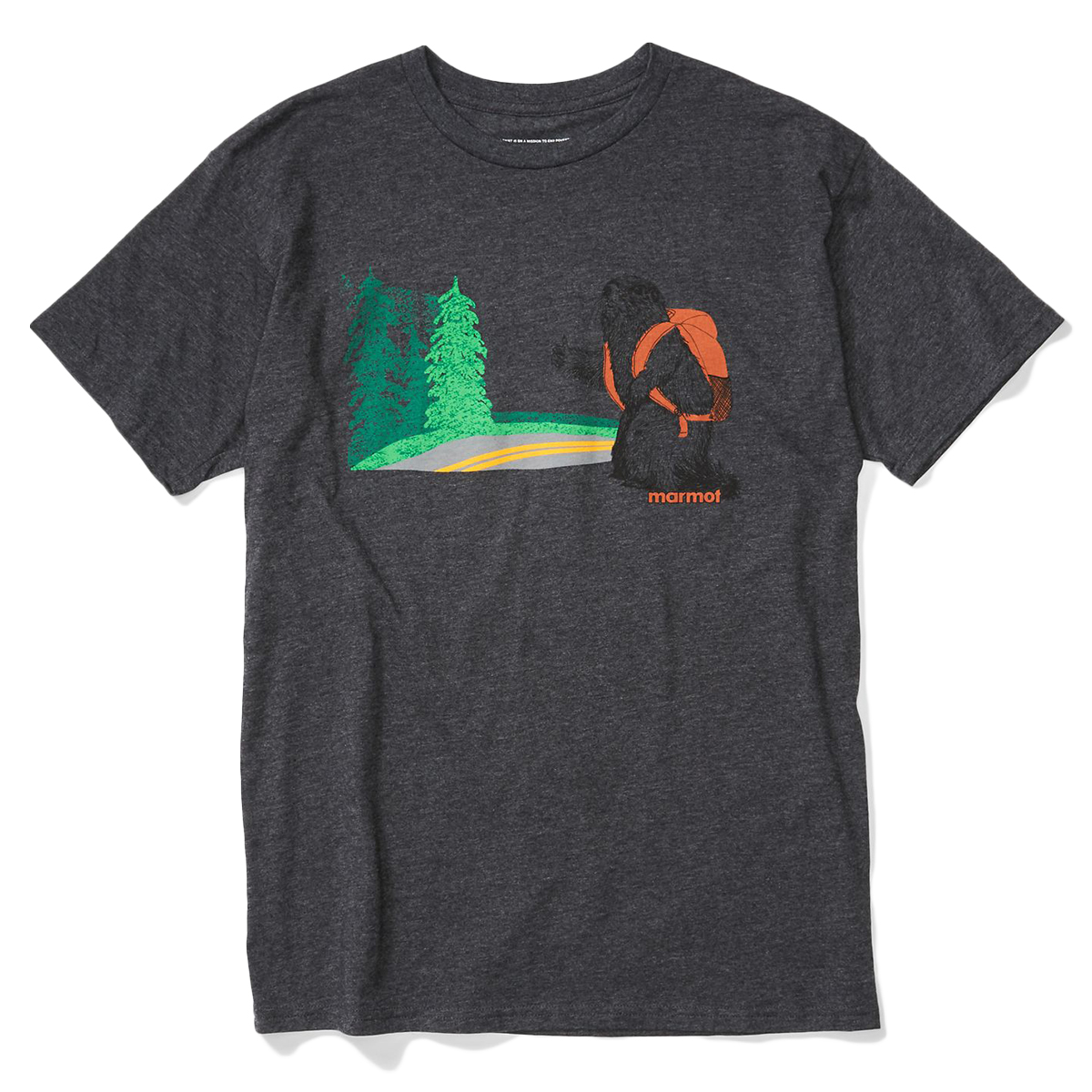 Marmot Men's Trek Short-Sleeve Tee - Black, L