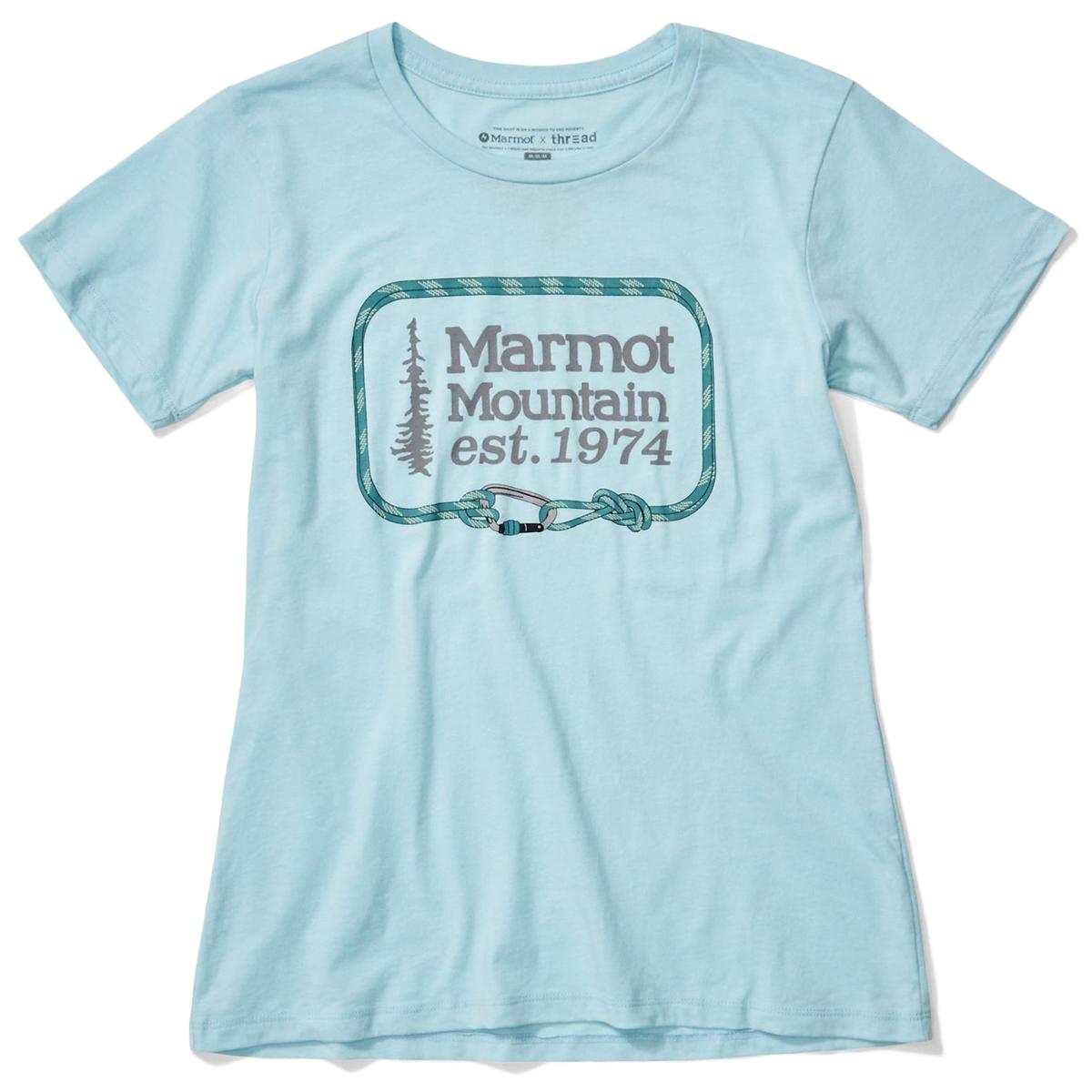 Marmot Women's Ascender Short-Sleeve Tee - Green, S