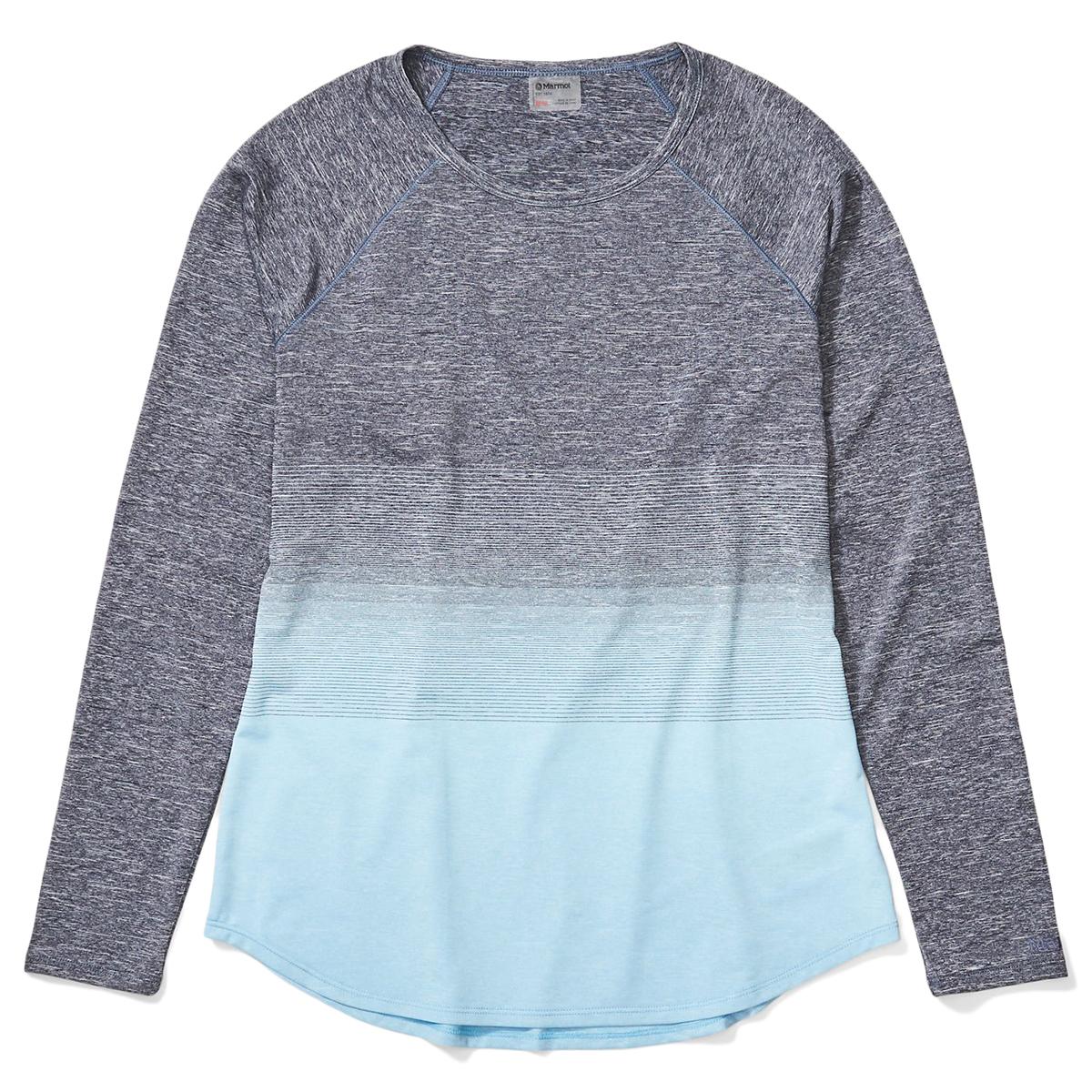 Marmot Women's Cabrillo Long-Sleeve Shirt - Blue, L