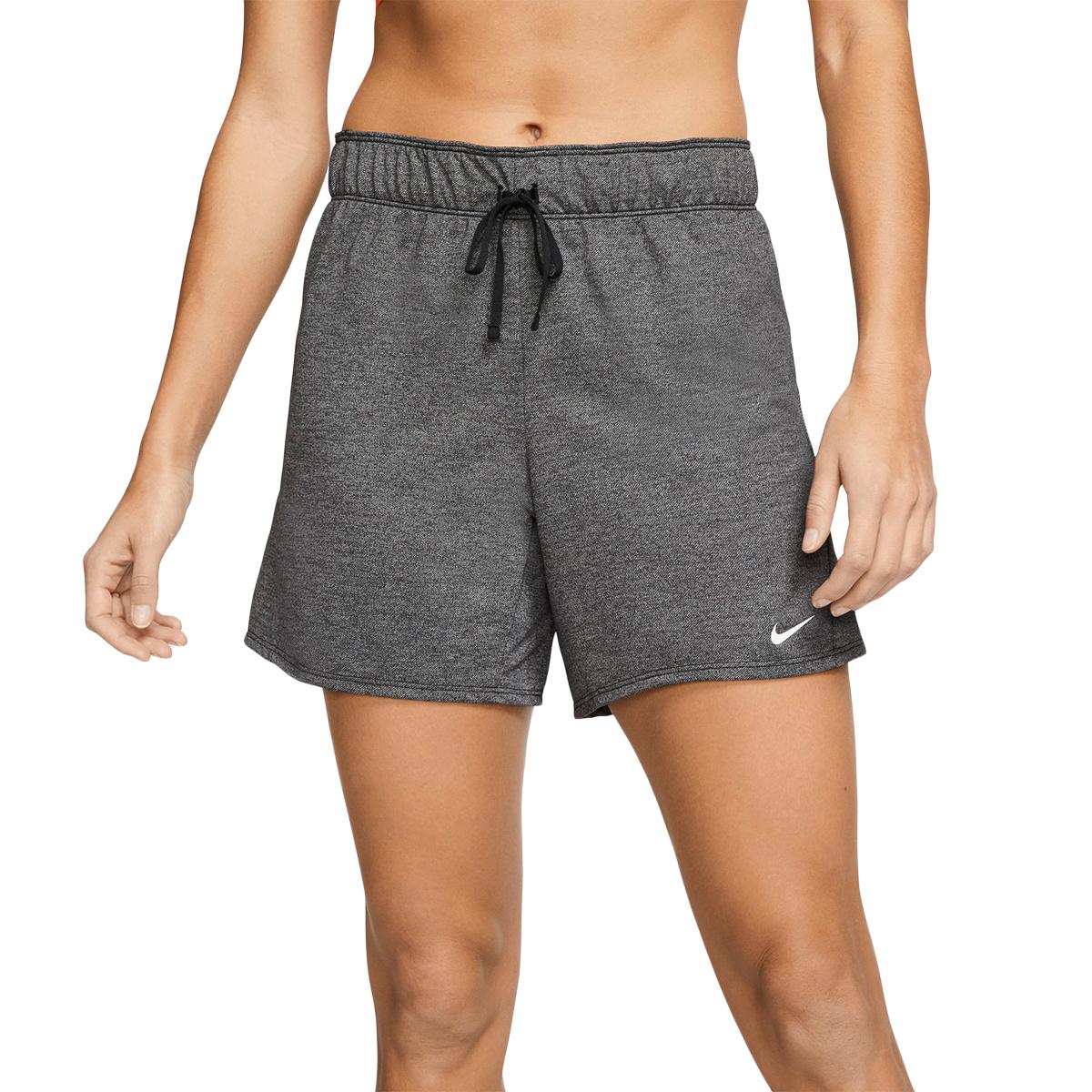 Nike Women's Dri-Fit Attack Training Short - Black, XL