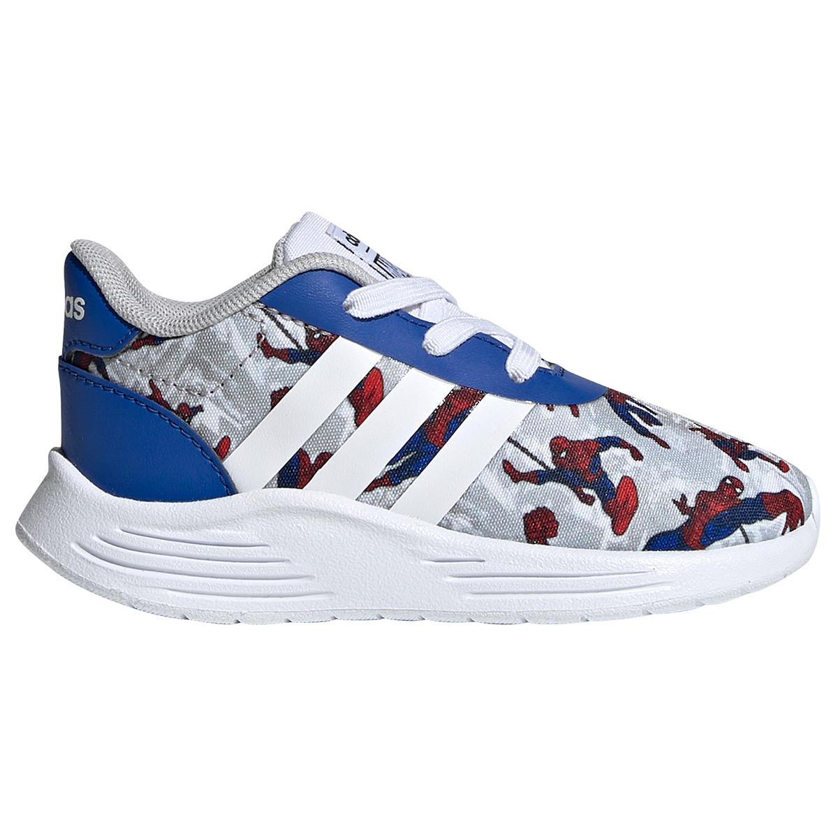 Adidas Infant/toddler Boys' Lite Racer 2.0 Spiderman Shoes - Blue, 8