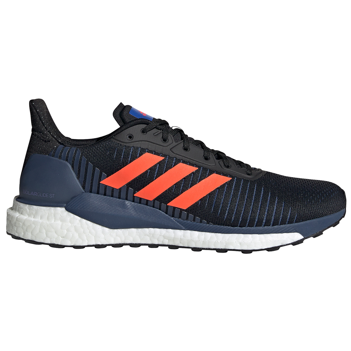 Adidas Men's Solar Glide St 19 Running Shoe - Black, 10