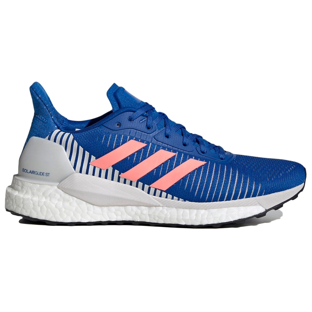 Adidas Women's Solarglide St 19 Running Shoe - Red, 7