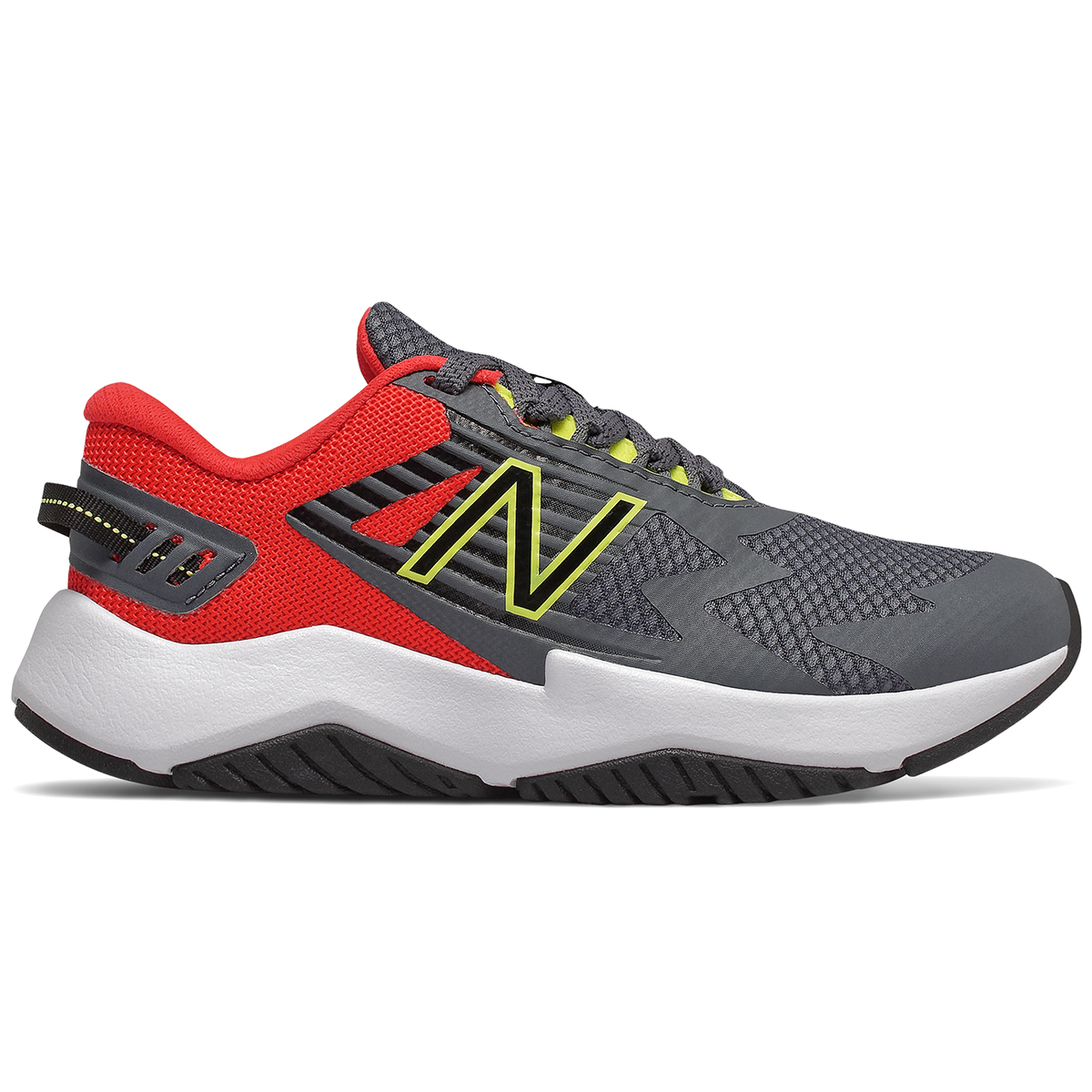 New Balance Boys' Rave Running Sneakers - Black, 3.5