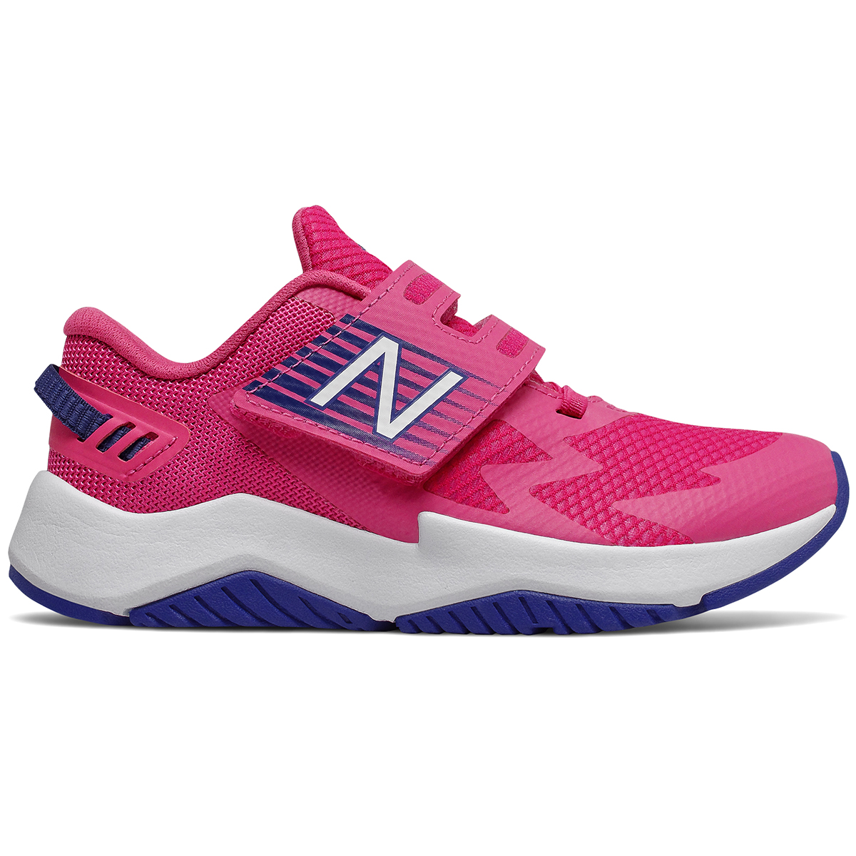 New Balance Little Girls' Rave Running Sneakers - Red, 11