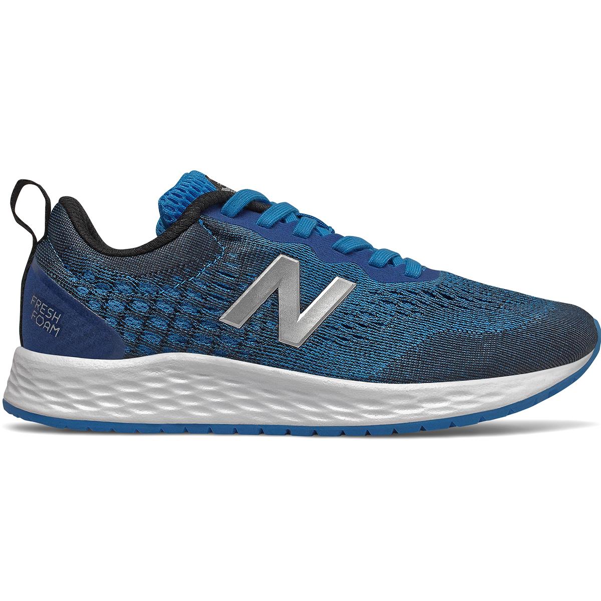 New Balance Boys' Fresh Foam Arishi V3 Sneaker, Wide - Blue, 1