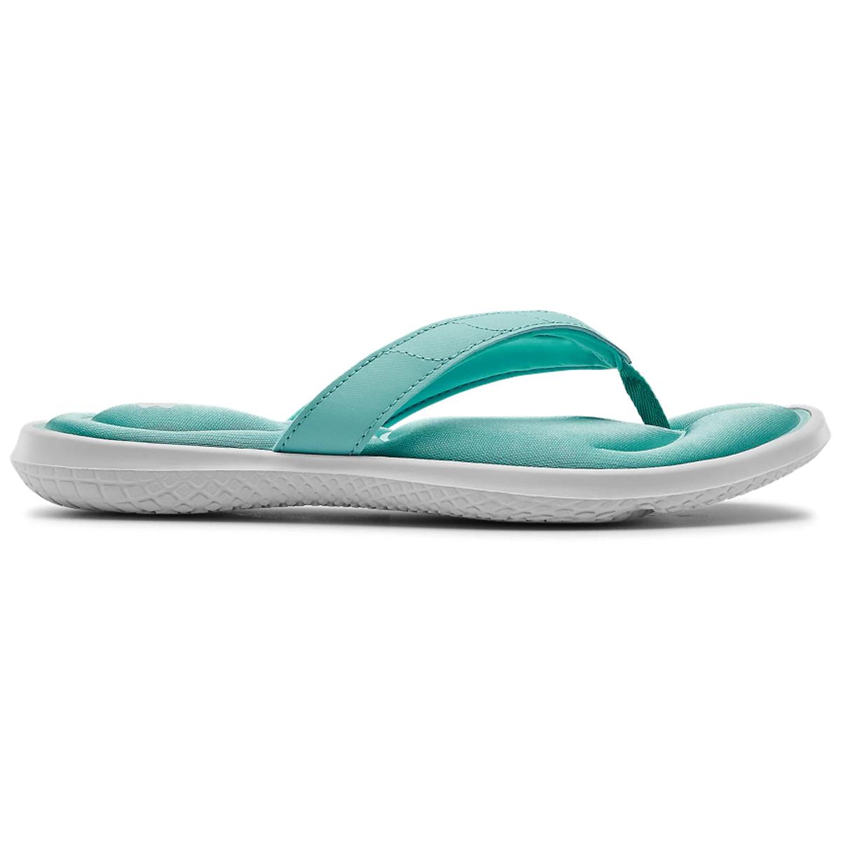 Under Armour Women's Marbella Vii Slide Sandals - Blue, 10
