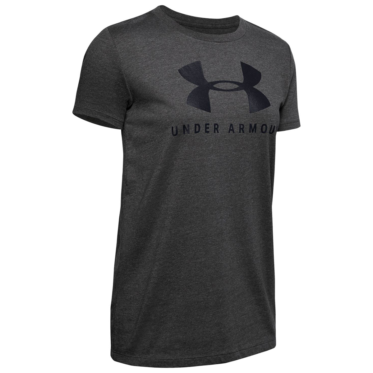 Under Armour Women's Ua Graphic Sportstyle Classic Short-Sleeve Tee - Black, S