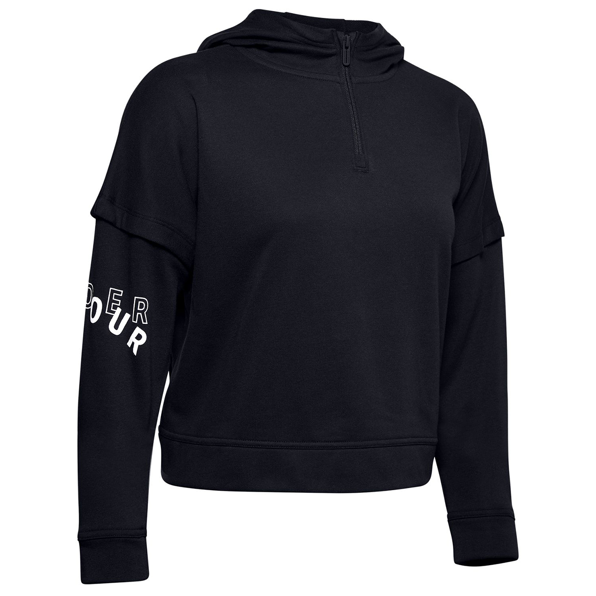 Under Armour Women's Ua Rival Terry Hoodie - Black, M