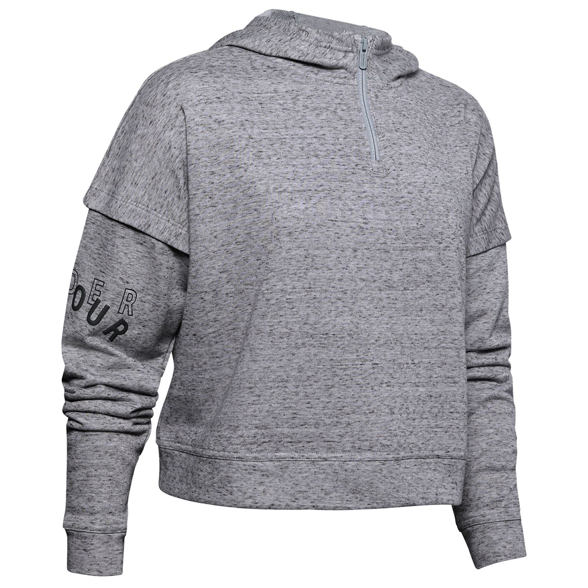 Under Armour Women's Ua Rival Terry Hoodie - Black, XL