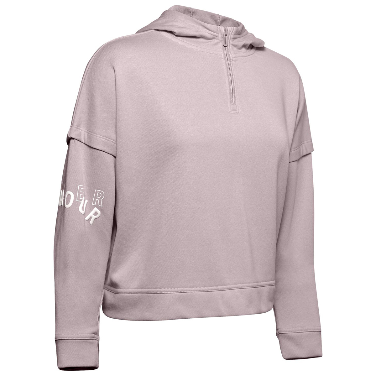 Under Armour Women's Ua Rival Terry Hoodie - Red, XL