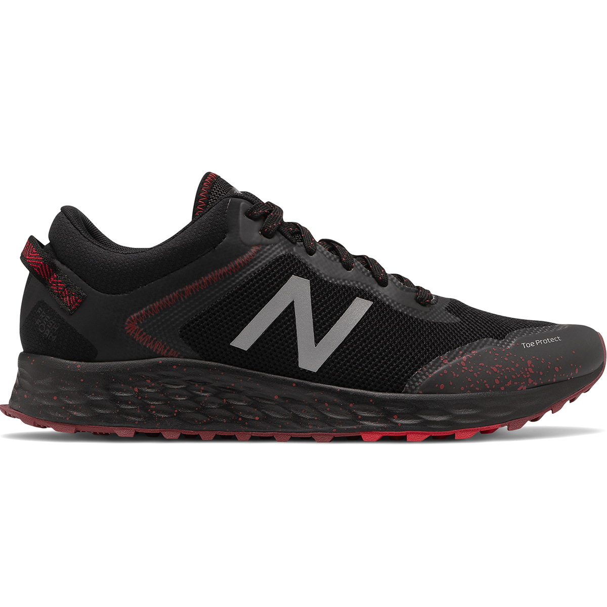 New Balance Men's Fresh Foam Arishi Trail Running Shoe - Black, 9.5