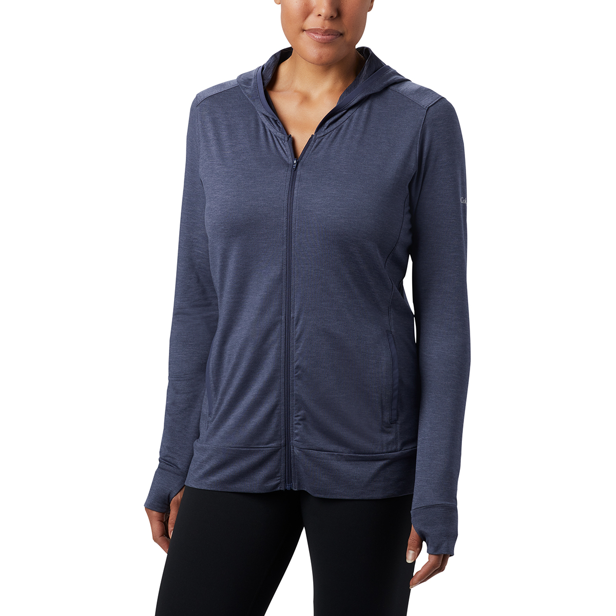 Columbia Women's Place To Place Ii Full Zip Hoodie - Blue, XL