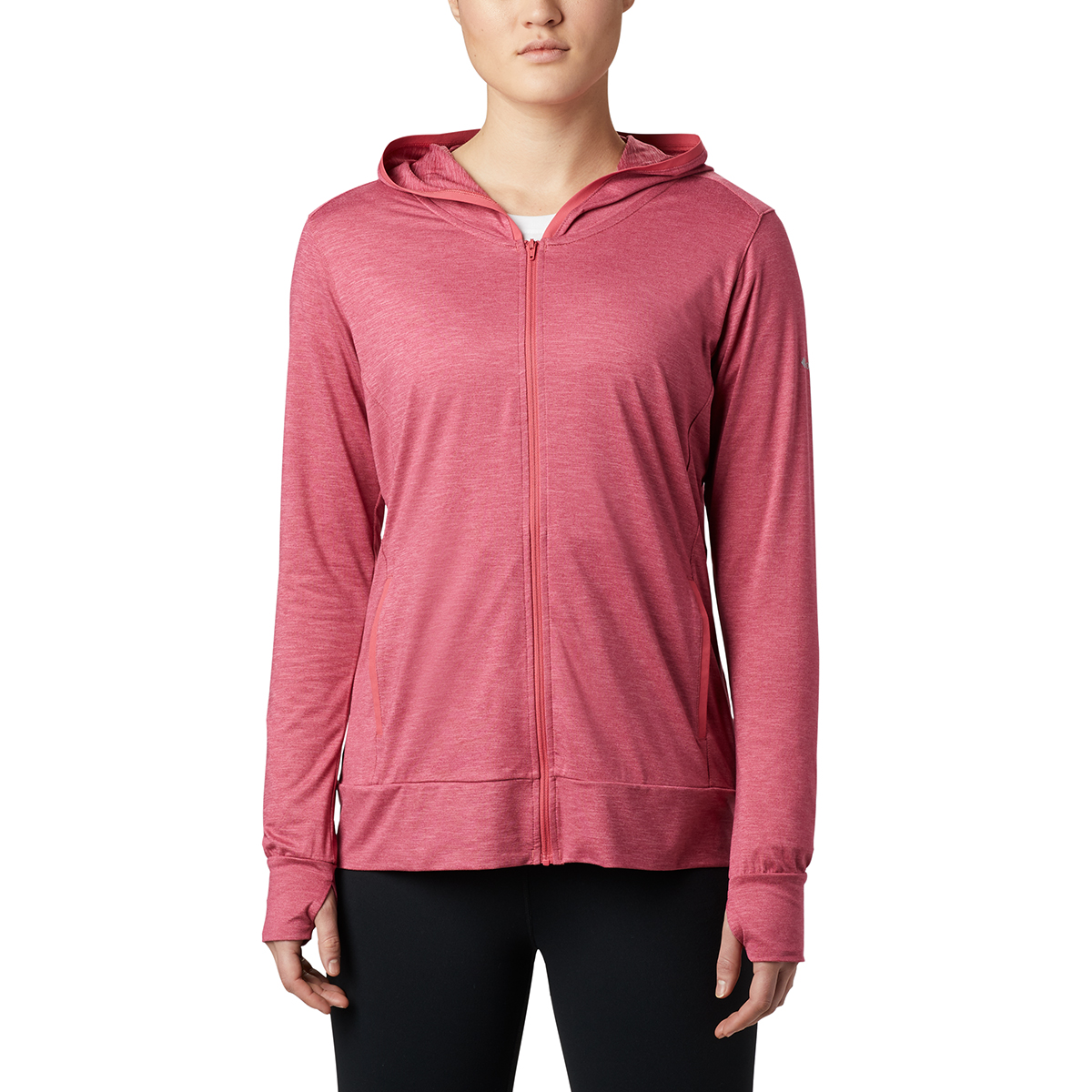 Columbia Women's Place To Place Ii Full Zip Hoodie - Red, S