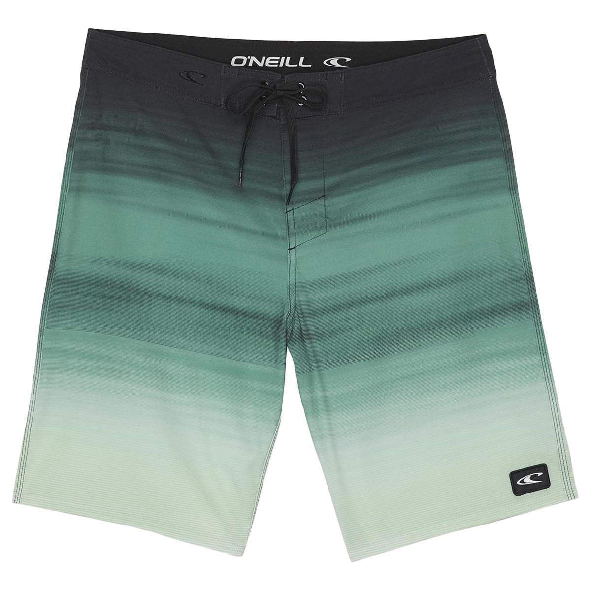 O'neill Men's Corban Boardshorts - Green, 30