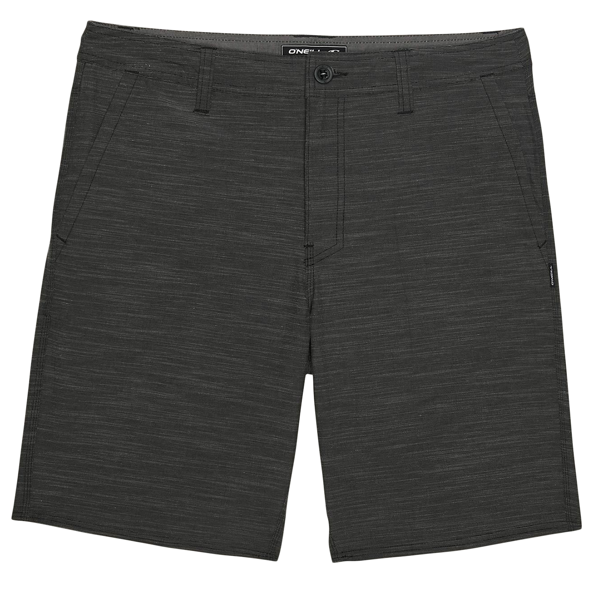 O'neill Men's Locked Slub Shorts - Black, 34