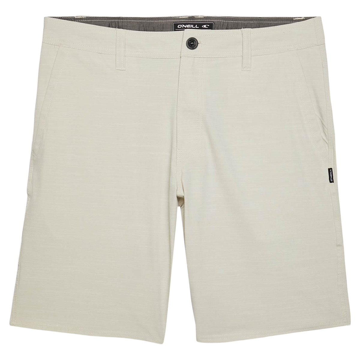 O'neill Men's Locked Slub Shorts - Brown, 36