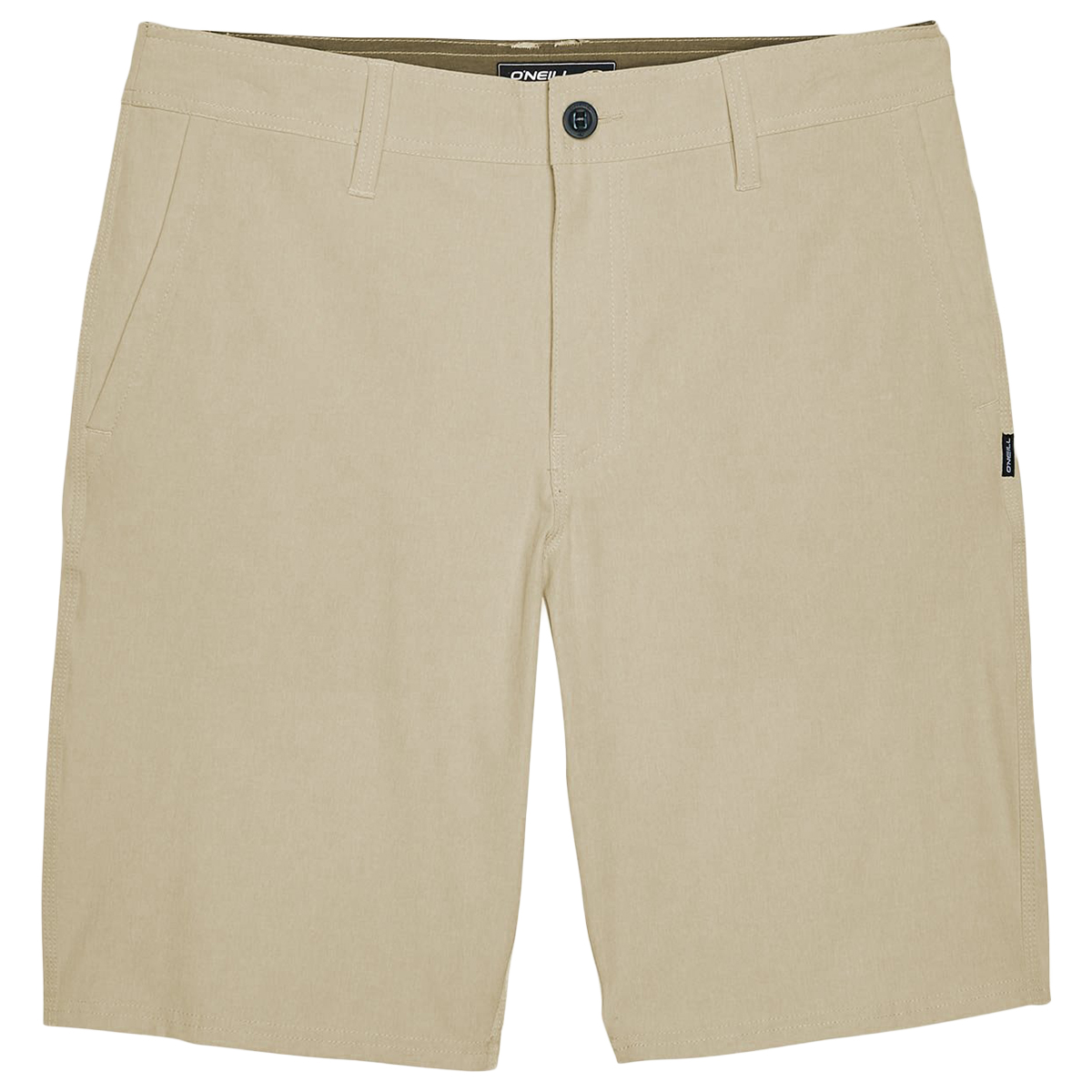 O'neill Men's Reserve Heather Hybrid Shorts - Brown, 38