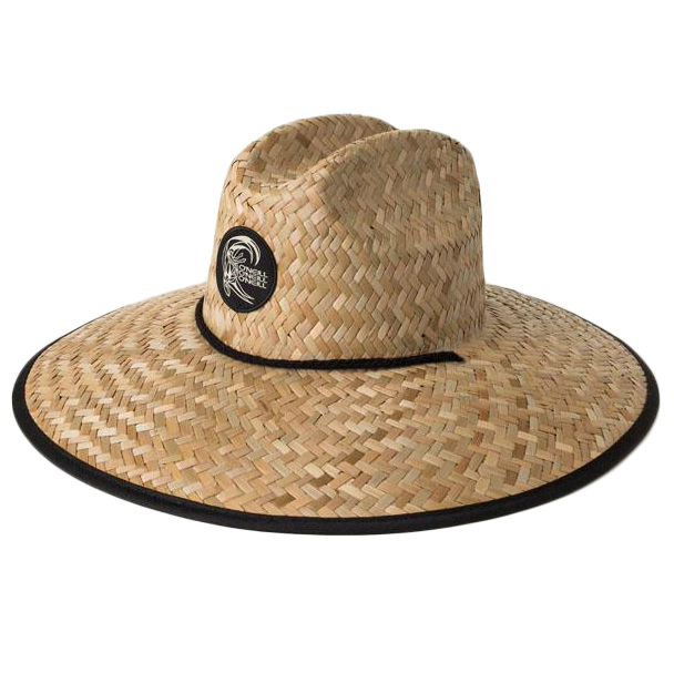 O'neill Men's Sonoma Straw Lifeguard Hat - Brown, 1 SIZE