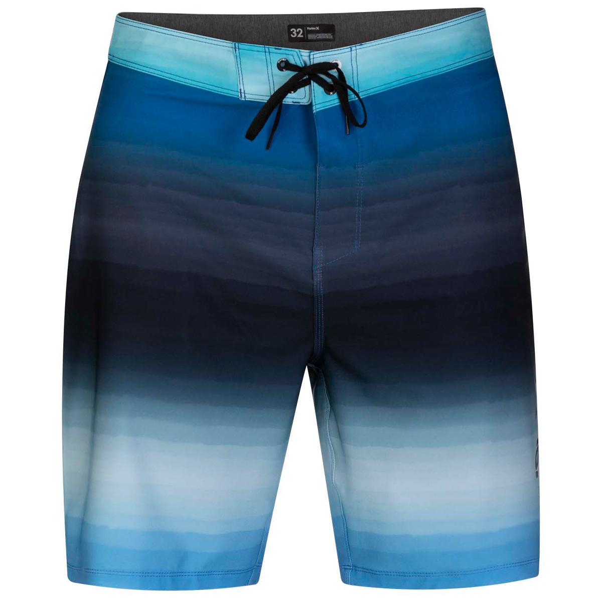 Hurley Men's Phantom Spray Blend 20-Inch Swim Boardshorts - Blue, 36