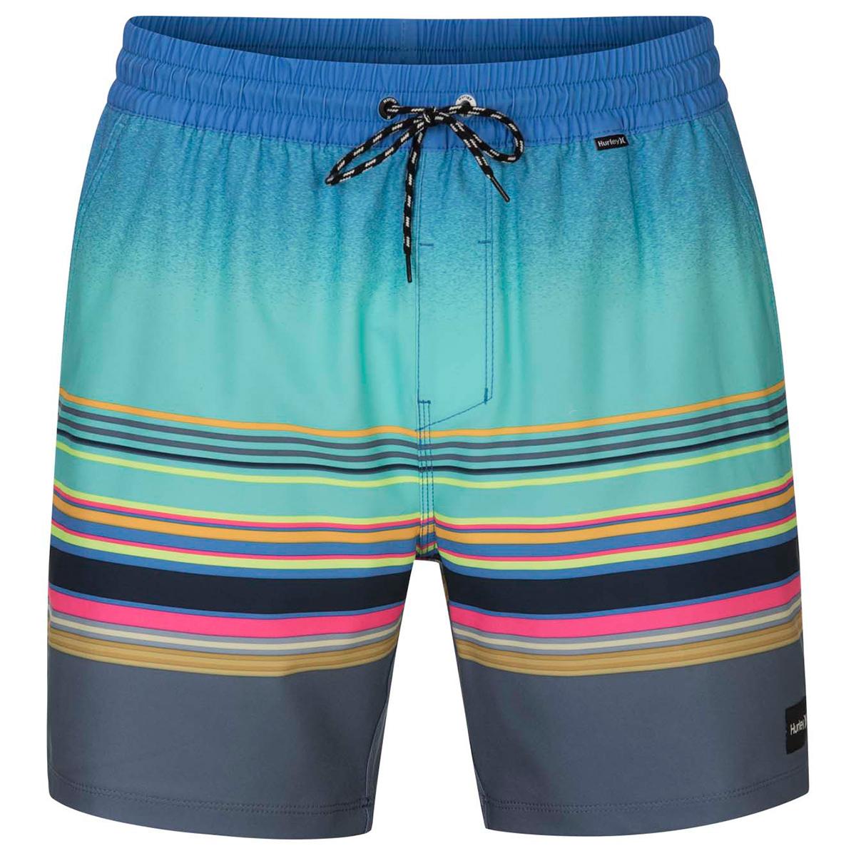 Hurley Men's Spectrum Volley Board Shorts - Green, S