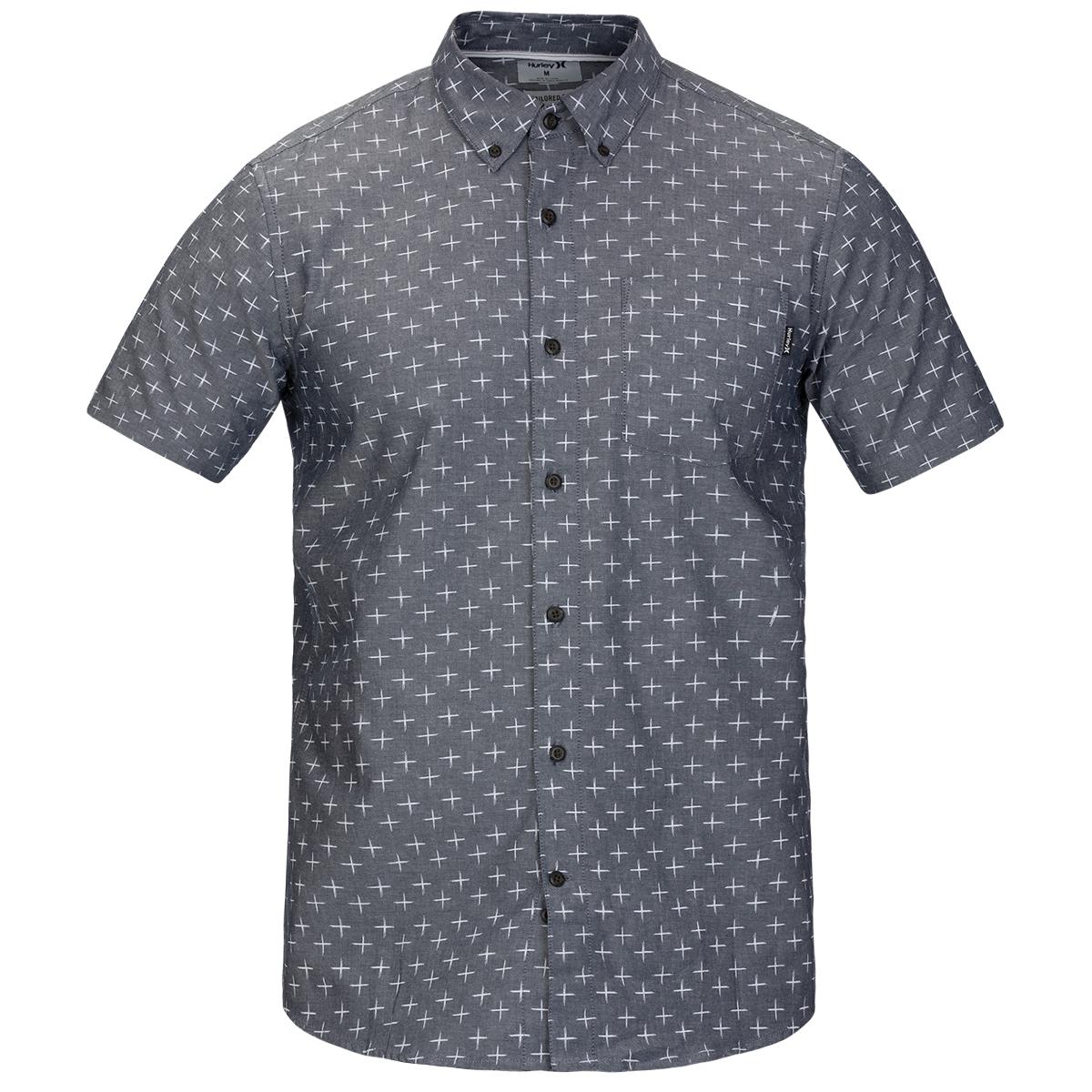 Hurley Men's Short-Sleeve Tokyo Shirt - Blue, S