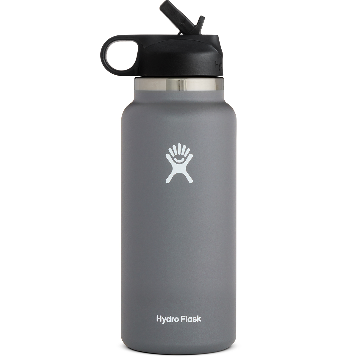 Hydro Flask 32Oz. Wide Mouth Bottle With Straw Lid