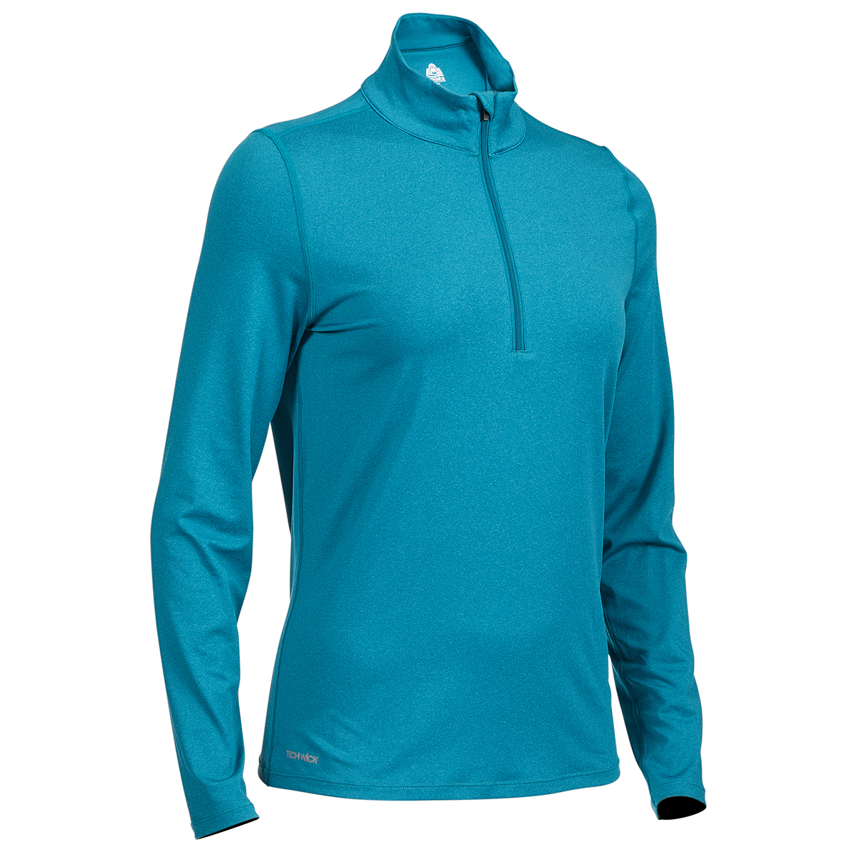 Ems Women's Long-Sleeve Essence Peak Quarter-Zip Technical Top - Green, XS