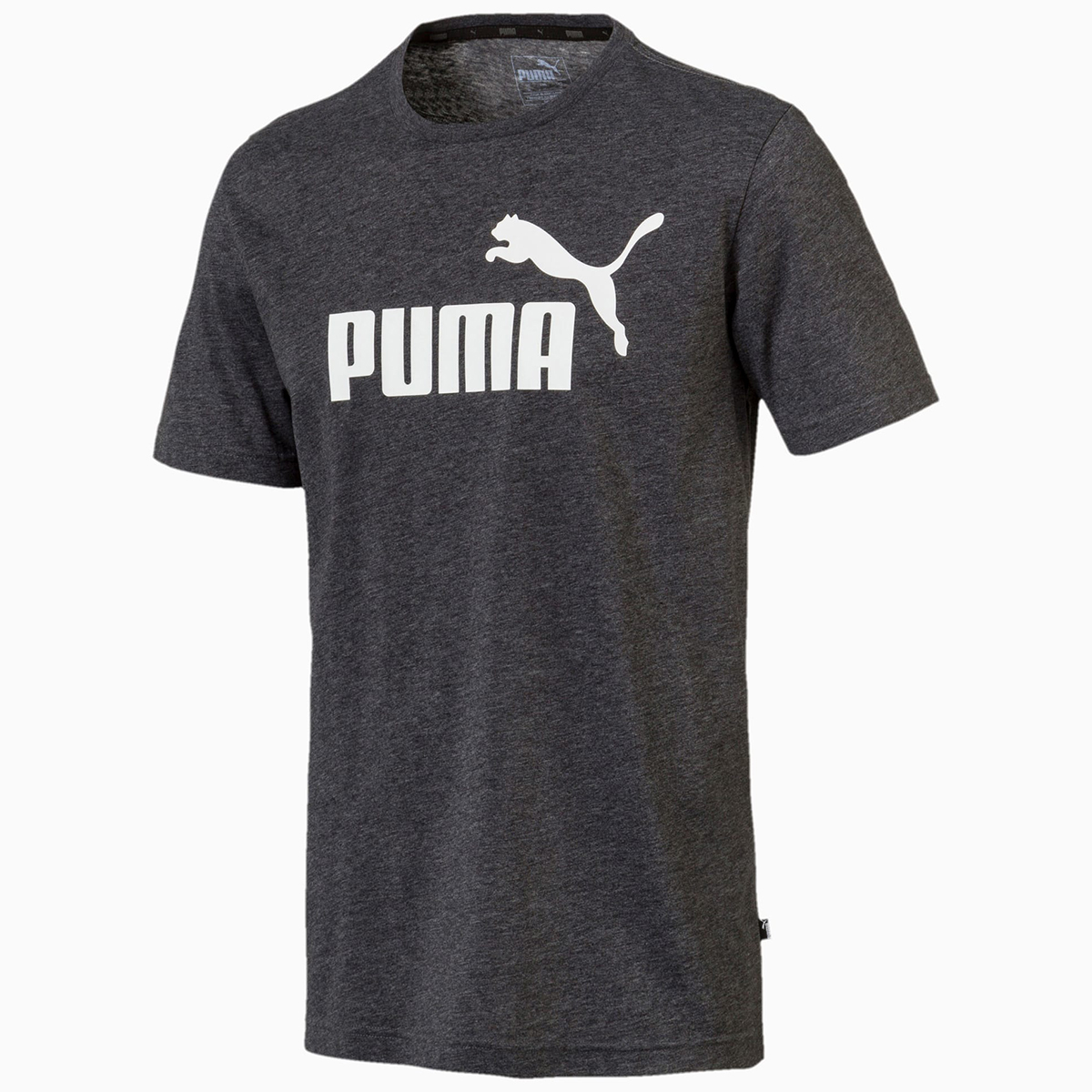 Puma Men's Essentials Short-Sleeve Tee - Black, XXL