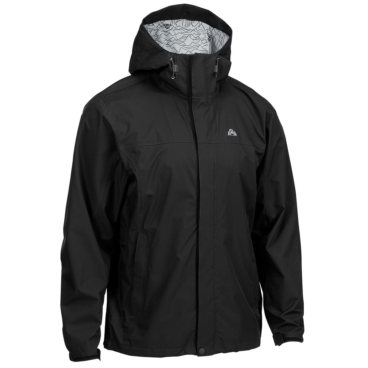 Ems Men's Thunderhead Peak Rain Jacket - Black, L