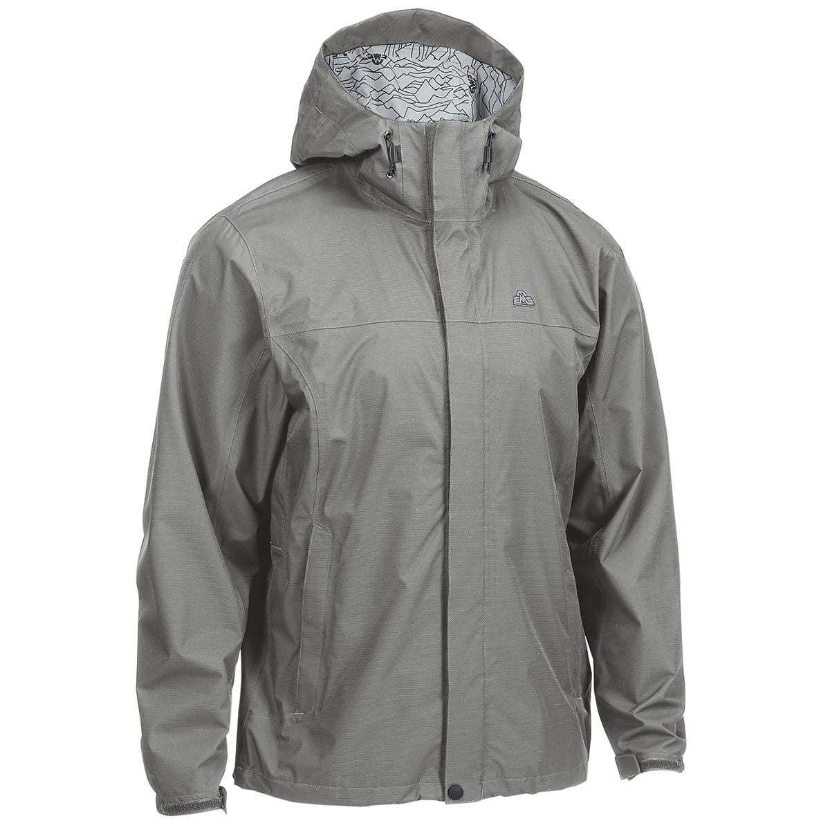 Ems Men's Thunderhead Peak Rain Jacket - Black, M
