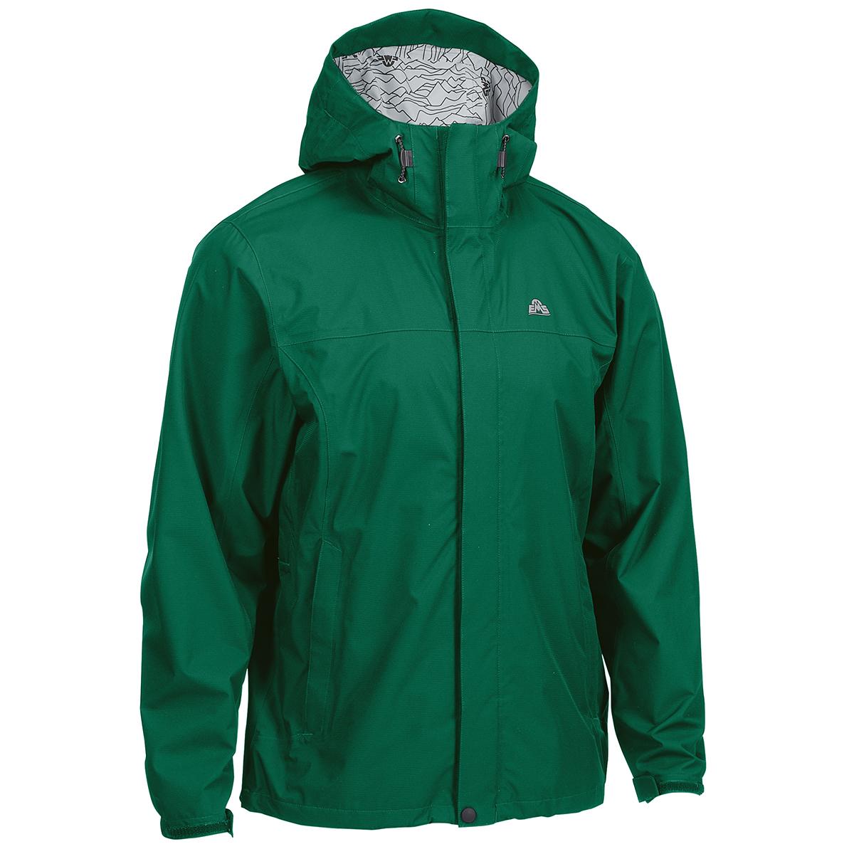 Ems Men's Thunderhead Peak Rain Jacket - Green, M