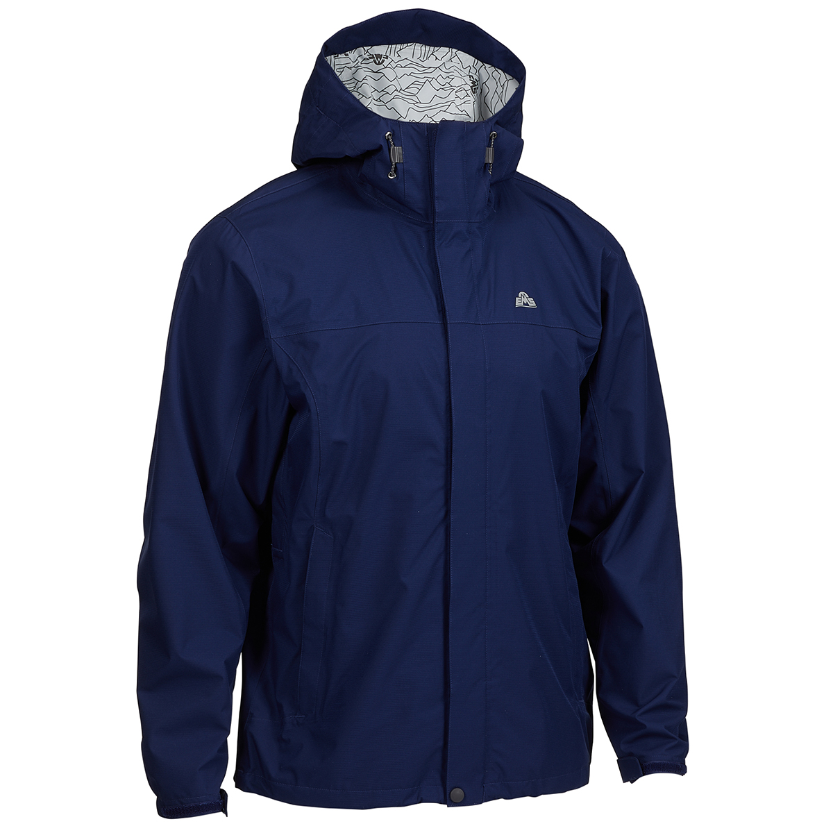 Ems Men's Thunderhead Peak Rain Jacket - Blue, S