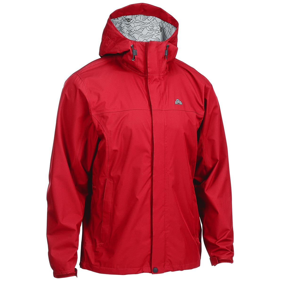 Ems Men's Thunderhead Peak Rain Jacket - Red, M