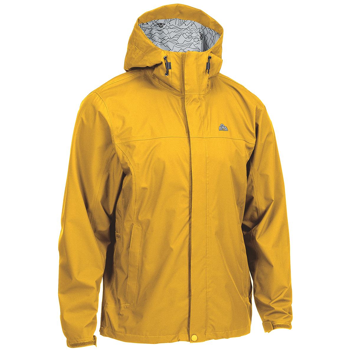 Ems Men's Thunderhead Peak Rain Jacket - Yellow, M