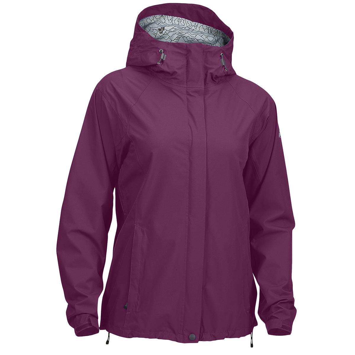 Ems Women's Thunderhead Peak Rain Jacket - Purple, S