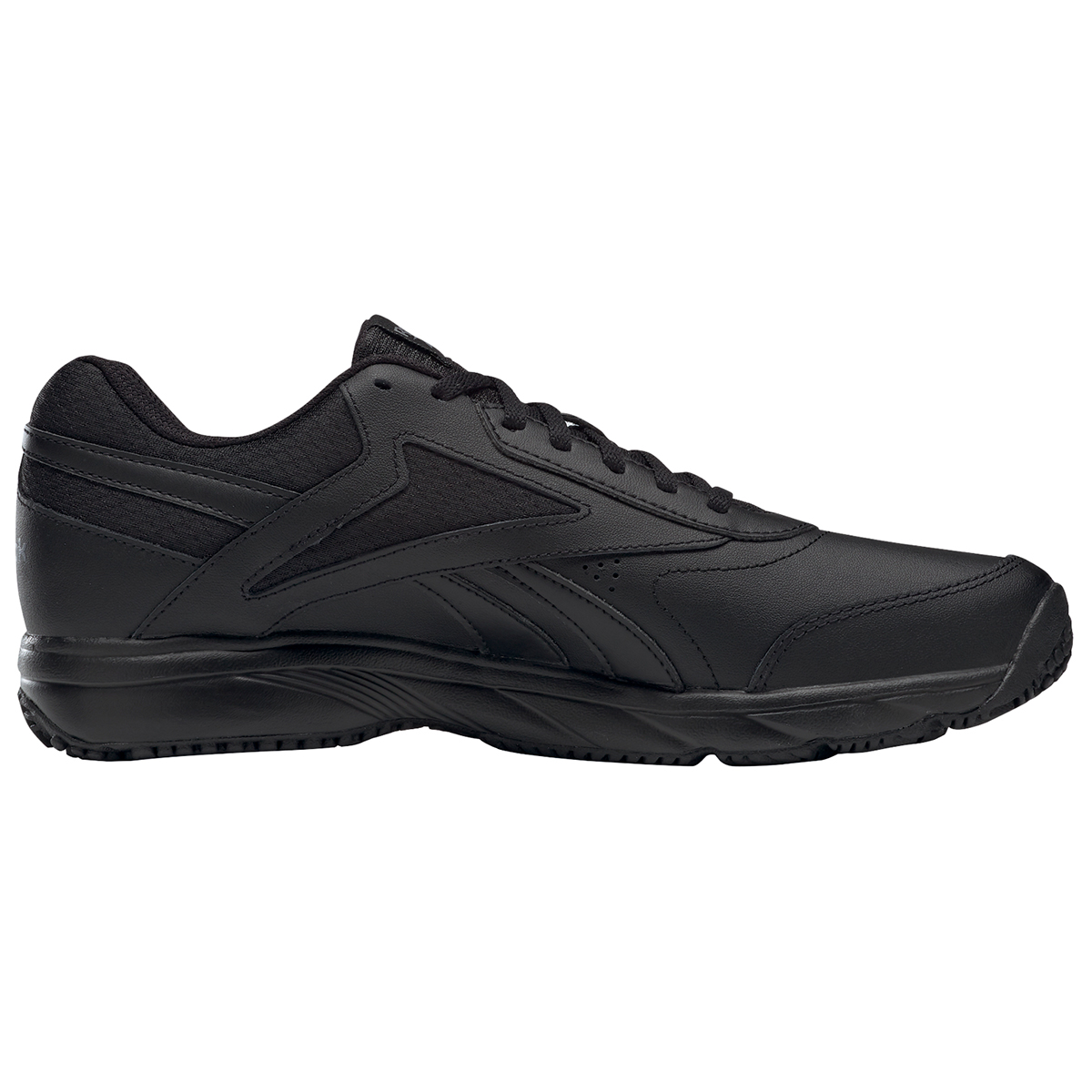 Reebok Men's Work N Cushion 4.0 Walking Shoe - Black, 10