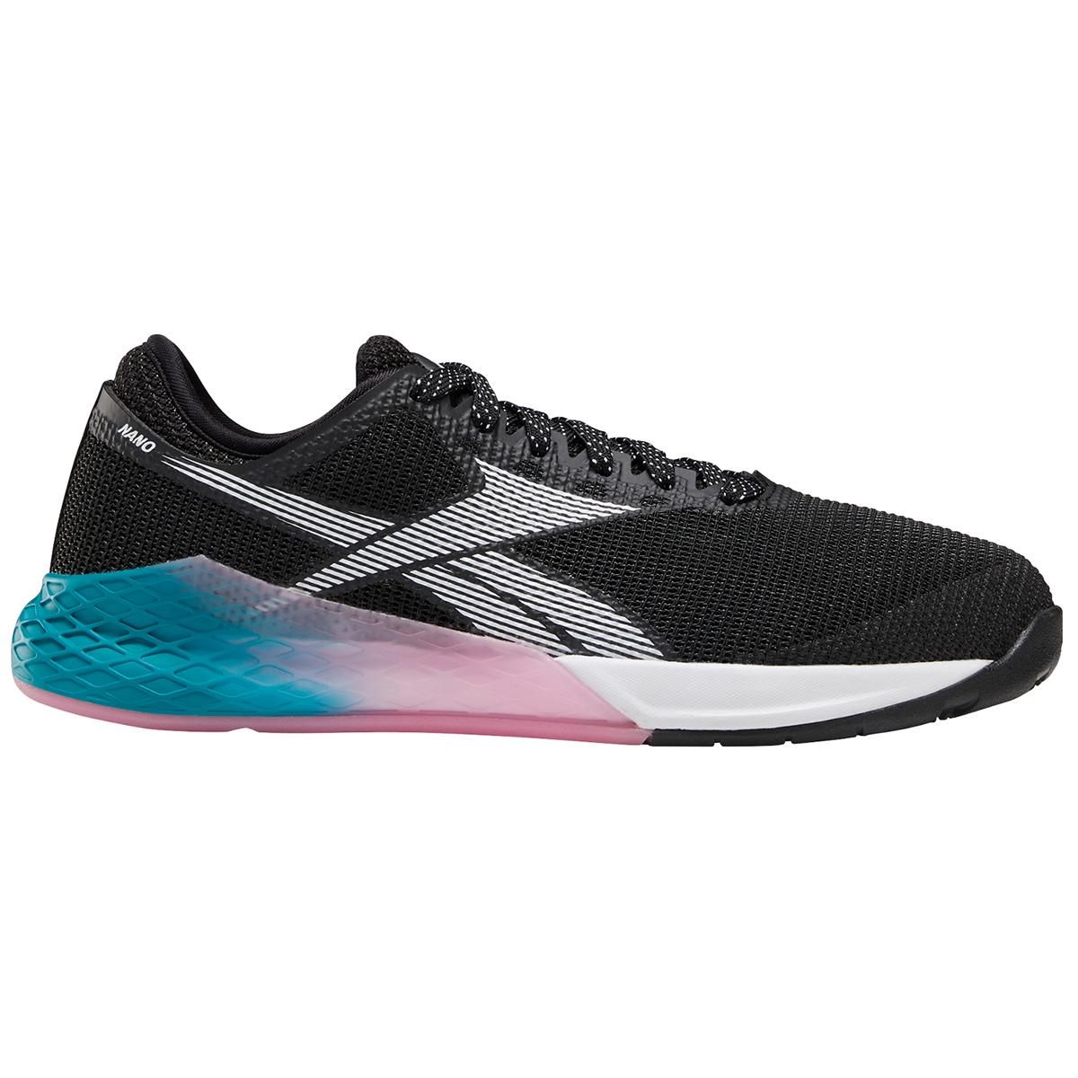 Reebok Women's Nano 9 Training Shoes - Black, 8