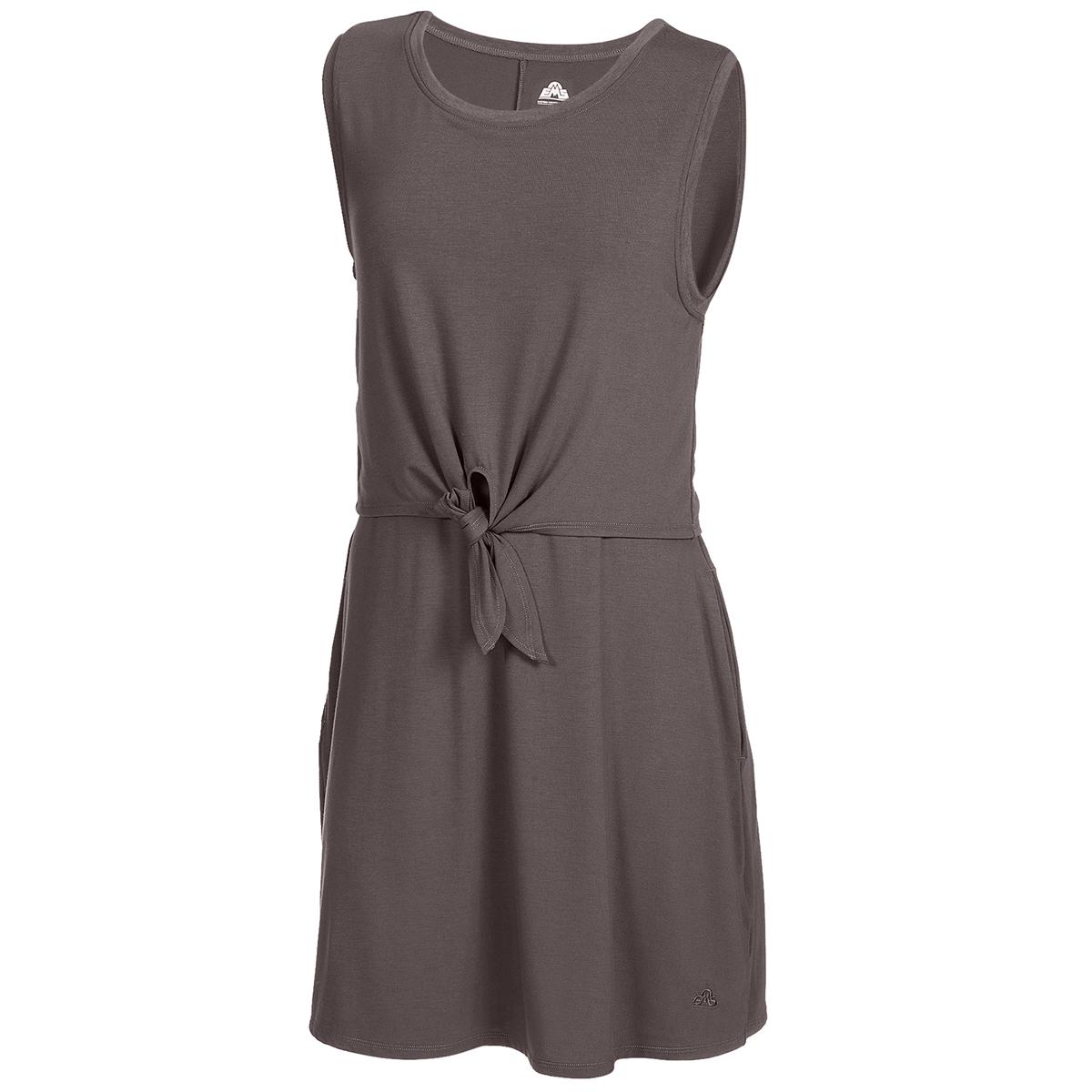 Ems Women's Highland Flounce Dress - Brown, XS