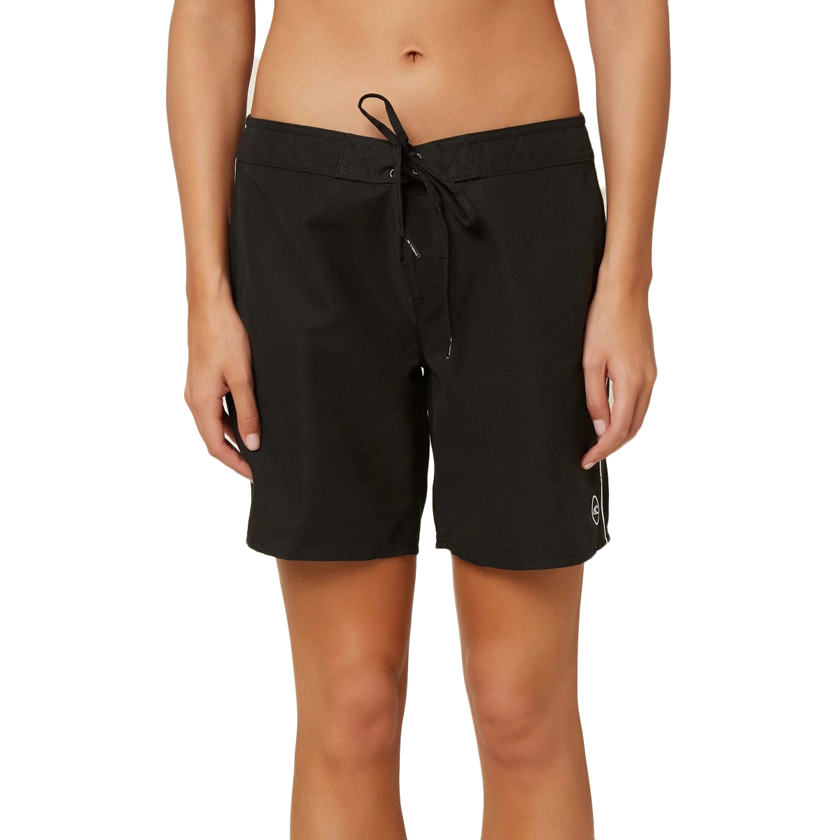 "O'neill Women's Saltwater Solids 7"" Boardshort - Black, 11"