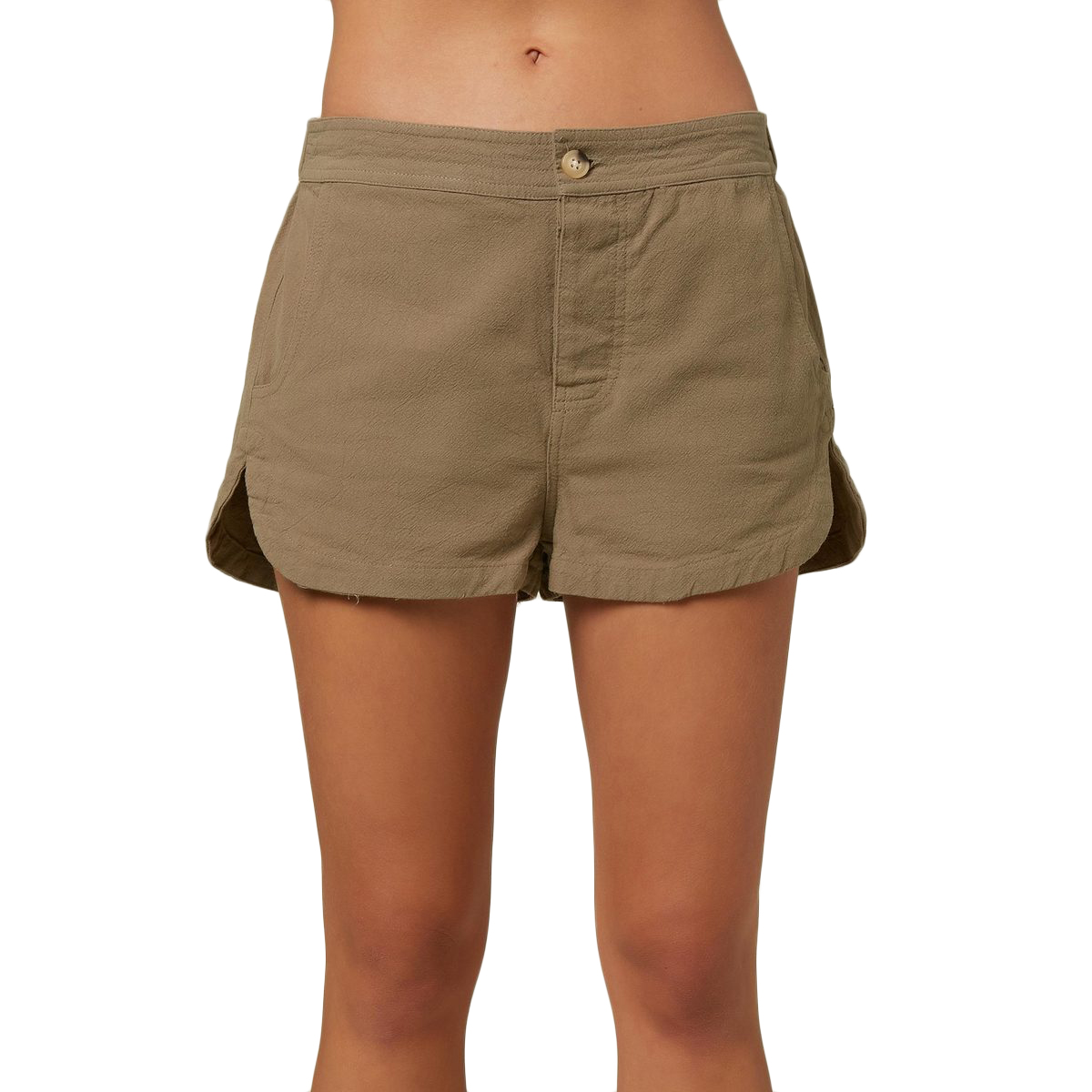 O'neill Women's Bismark Shorts - Green, XS